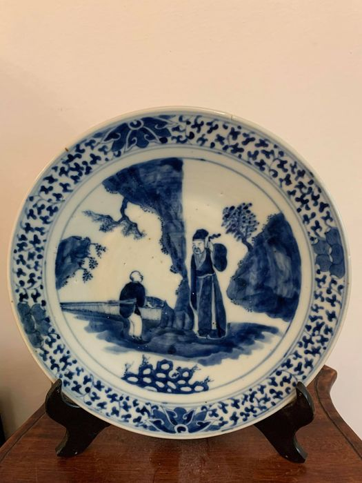 Plate (1) - Porcelain - Plate (1) - Porcelain - China - 19th century - China - 19th century