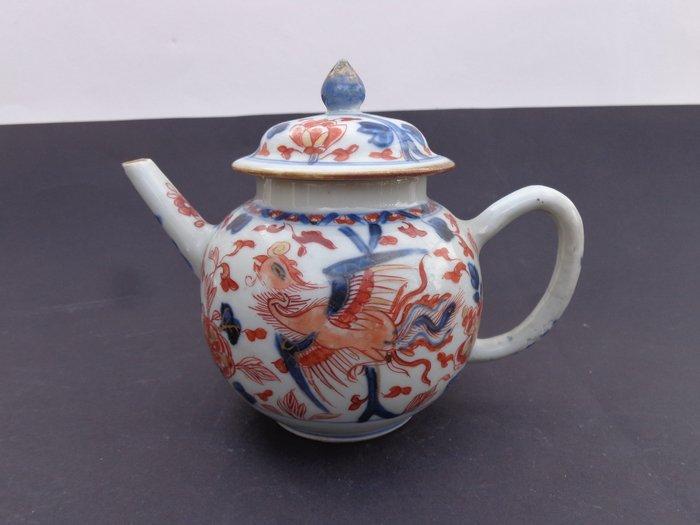 teapot (1) - Imari - Porcelain - Bird - China - Kangxi (1662-1722)