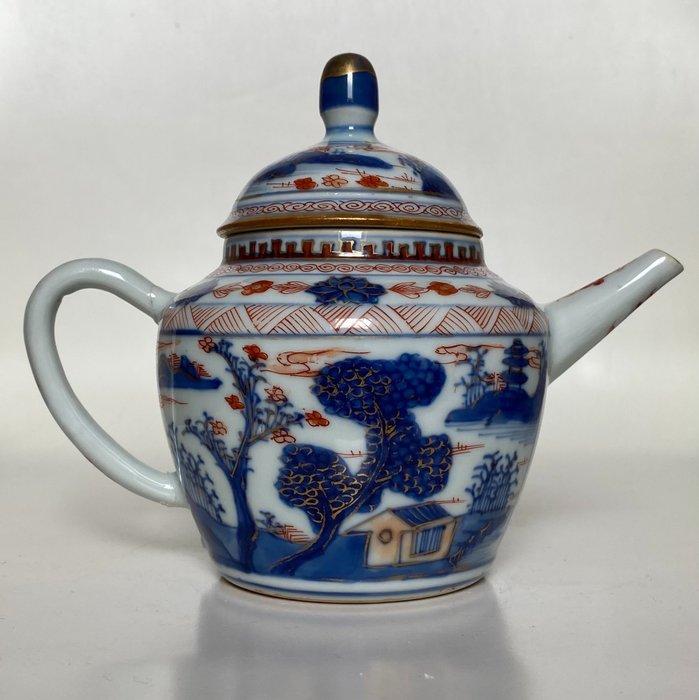 Large teapot - Imari - Porcelain - China - Kangxi (1662-1722)