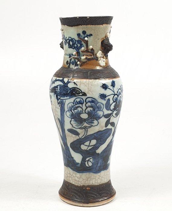 Vase - Porcelain - Bird - China - 19th century