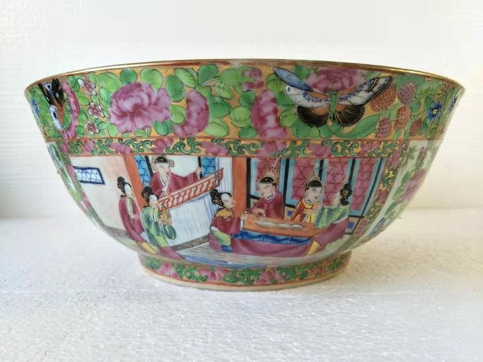 Vessel - Canton - Porcelain - character - China - 19th century