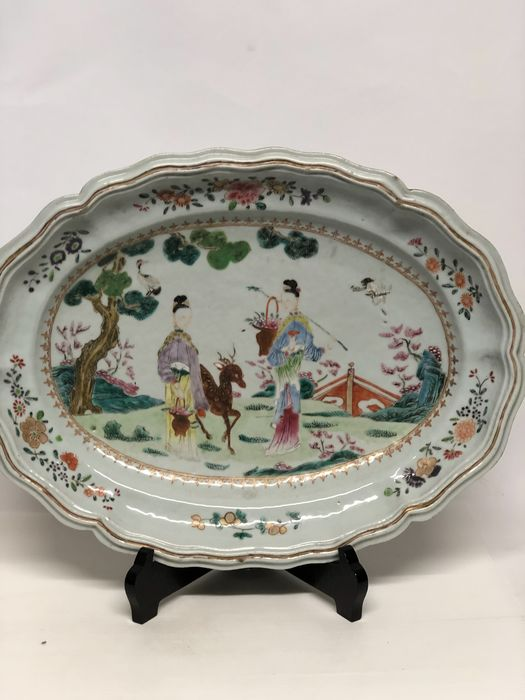 Plate - Porcelain - China - 18th century