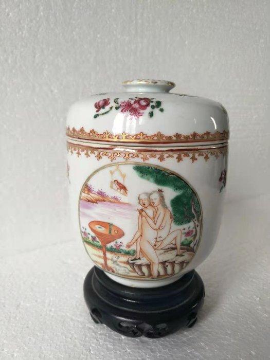 sugar - Famille rose - Porcelain - erotic - China - 18th century
