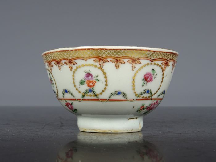 Cup - Famille rose - Porcelain - China - Qianlong (1736-1795)