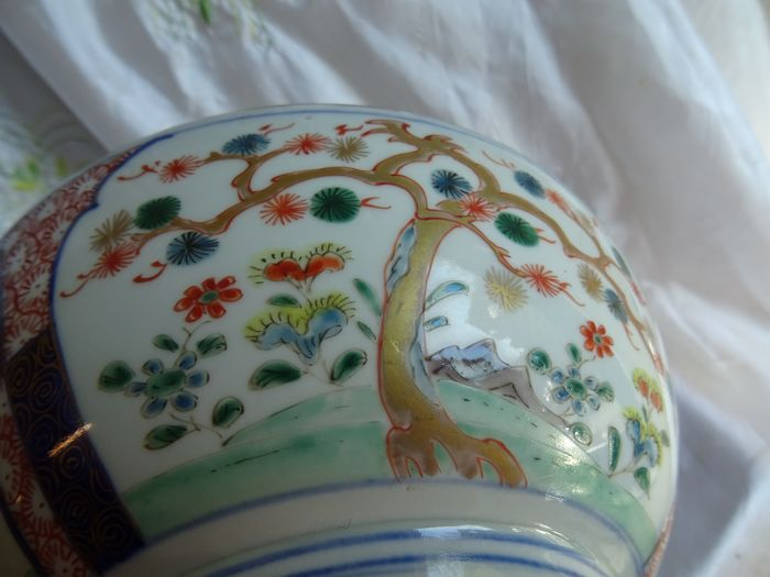 come (1) - Arita - Porcelain - Arita Edo - Japan - 18th century
