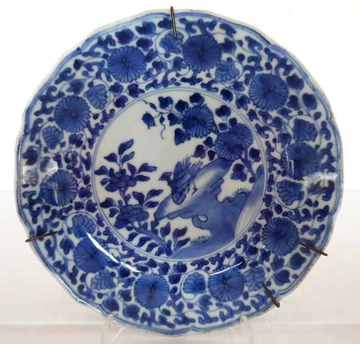 Dish (1) - Porcelain - Animal - China - Kangxi (1662-1722)