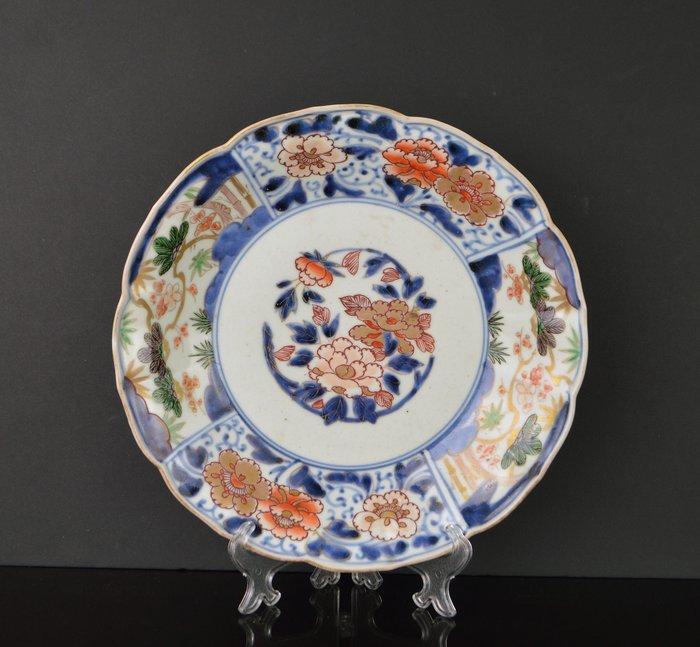 Dish - Arita - Porcelain - Japan - 17th - 18th century