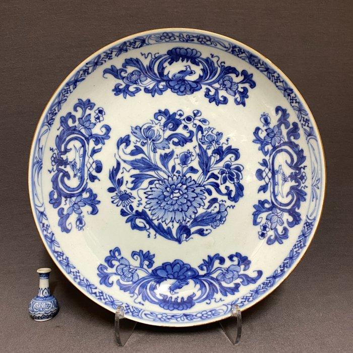 """Plate - Porcelain - Chinese - """"Madame de Pompadour"""" - China - Qianlong (1736-1795)"""