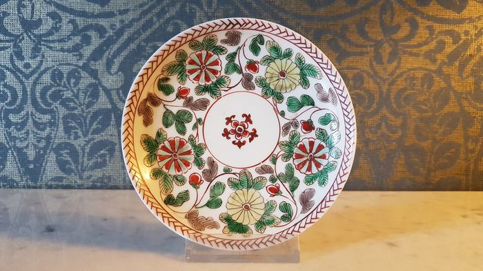 Dish (1) - Porcelain - China - Kangxi (1662-1722)