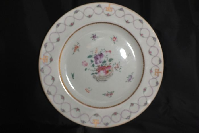 Plate - Ceramic - China - Qianlong (1736-1795)