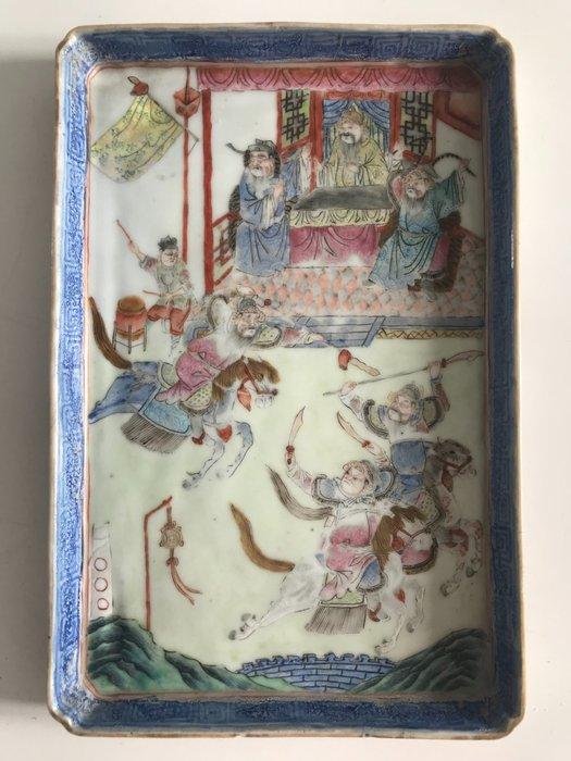 Tray - Porcelain - China - 19th century