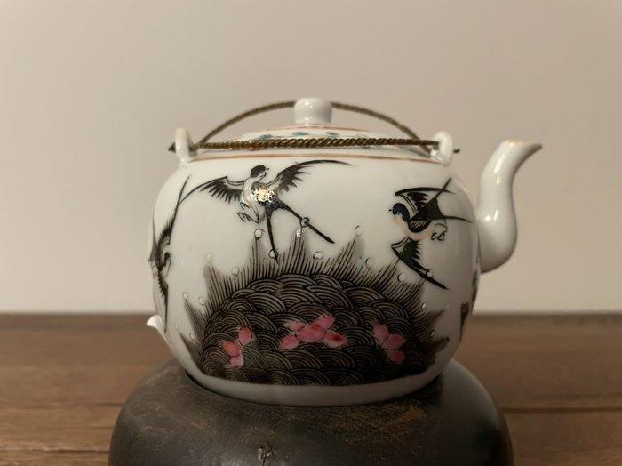 Teapot (1) - Porcelain - China - Guangxu (1875-1908)