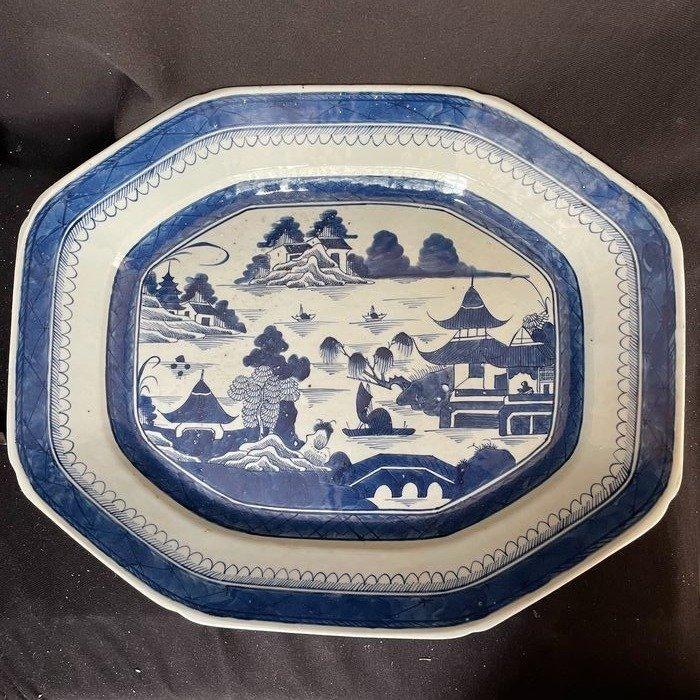 Platter - Ceramic - China - Qianlong (1736-1795)