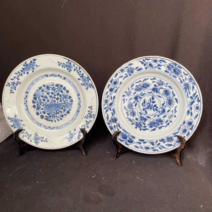 Dishes (2) - Ceramic - China - Qianlong (1736-1795)