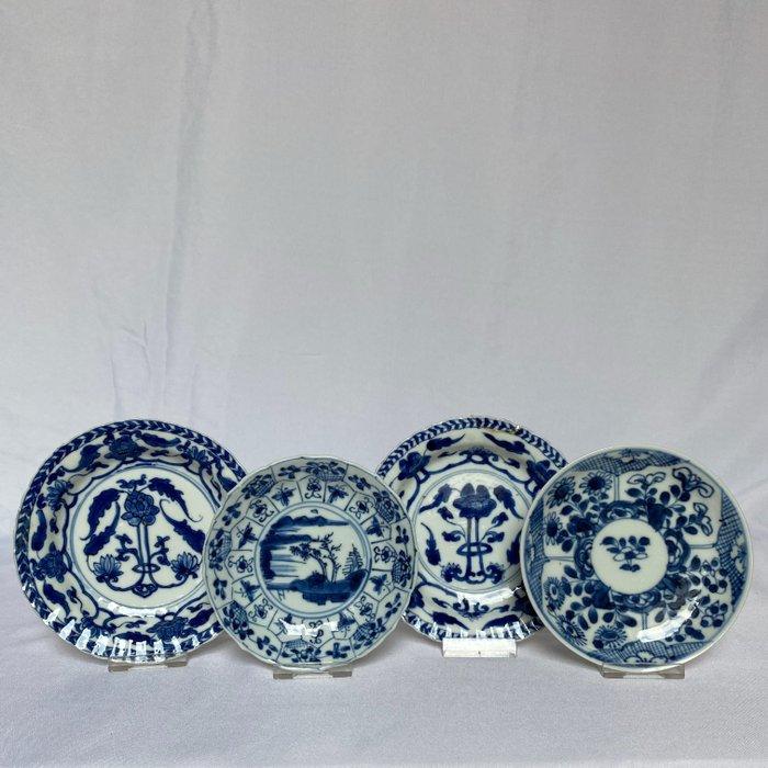 Four dishes - Porcelain - China - Kangxi (1662-1722)