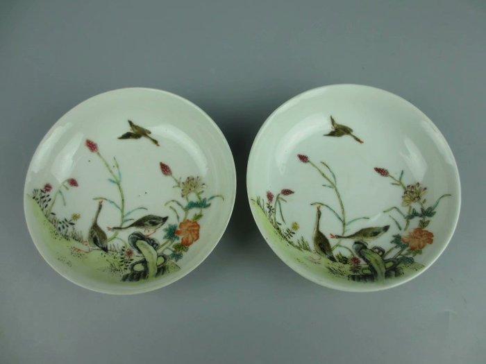 Plates - Porcelain - China - Republic period (1912-1949)