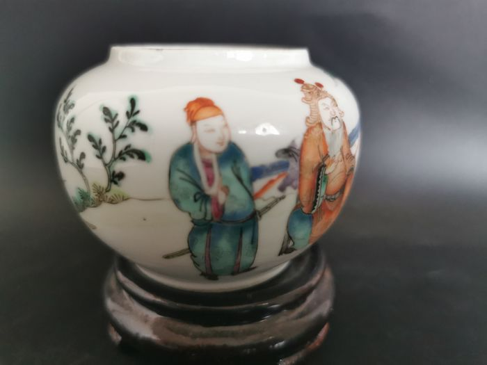 Vase - Porcelain - China - Late 19th century