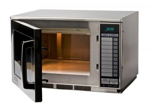 sharp r 22at 1500w commercial microwave