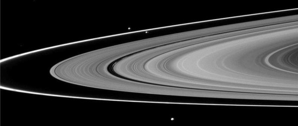 Origin of Saturn's F Ring and its shepherd moons revealed ...