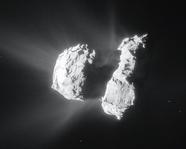 Rosetta's Comet 67P contains ingredients for life ...