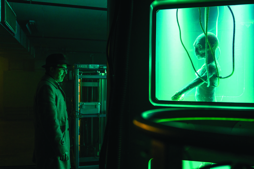 Project Blue Book , Project Blue Book - Staffel 1 mit Aidan Gillen