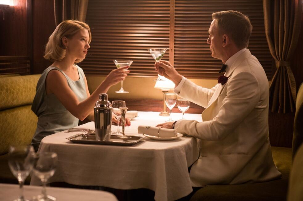 James Bond 007 - Spectre mit Daniel Craig und Léa Seydoux