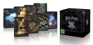 Harry Potter: 4K Box as a limited edition Steelbook