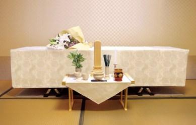 小さな火葬式 祭壇