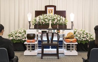 小さな家族葬 祭壇