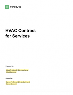 Eme college requested the proposals from qualified vendors. Free Hvac Proposal Template By Pandadoc Get 2021 Sample