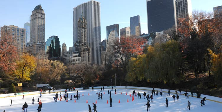 wollman rink ice skating