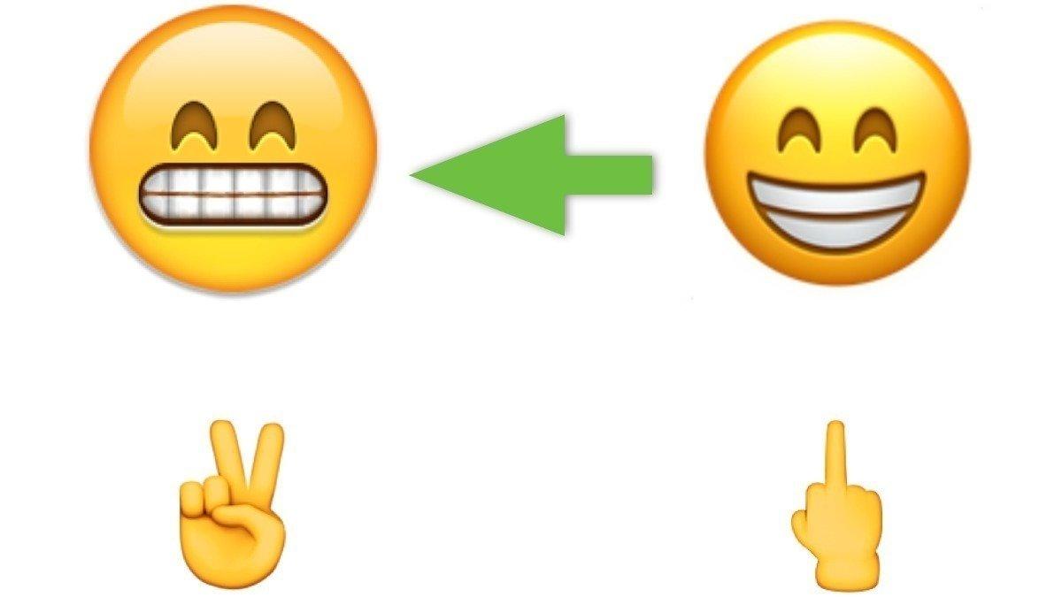 Weird Smiley Face Emoji
