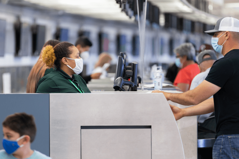 Travelers have returned to Oakland International Airport in records numbers nearing the opening of the state of California due to COVID-19 pandemic restrictions.