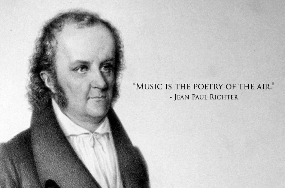 24 inspirational quotes about classical music   Classic FM 17  Jean Paul Richter