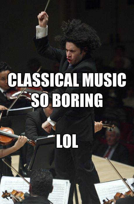 classical music boring