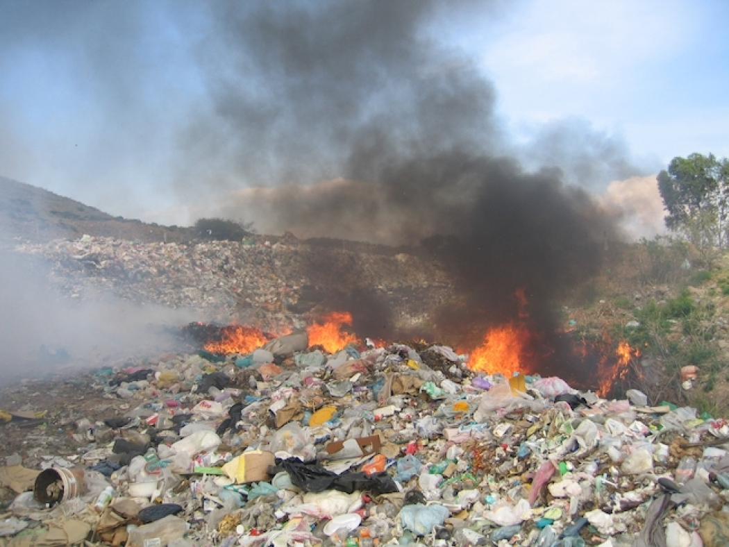 For Air Pollution Trash Is A Burning Problem