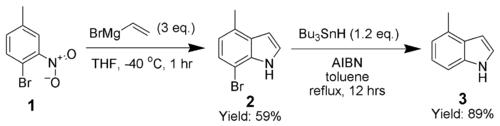 Bartoli吲哚合成 Bartoli Indole Synthesis 化学空间 Chem Station