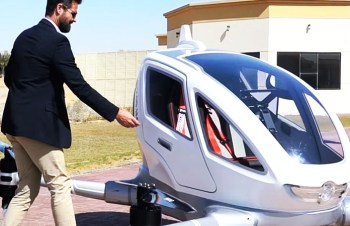 Dubai Test First Drone Taxi Services Dubai Become a First City with Drone Taxi