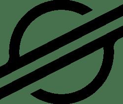 Stellar symbol black RGB криптовалюта