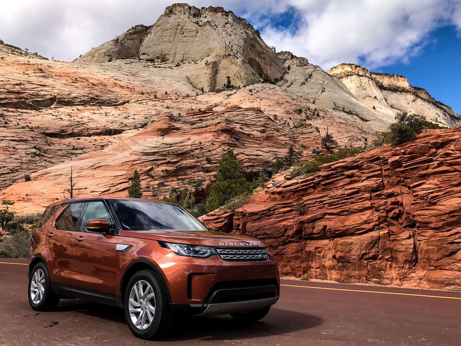 Test Drive 2017 Land Rover Discovery Cool Hunting