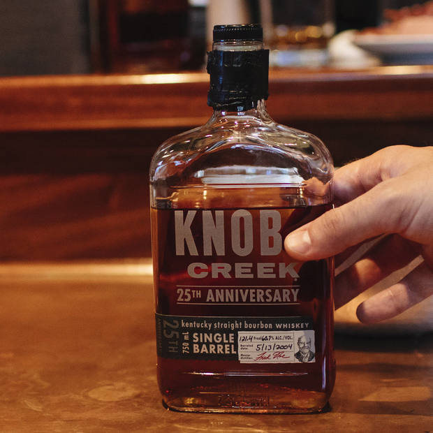 Knob Creek 25th Anniversary Bourbon