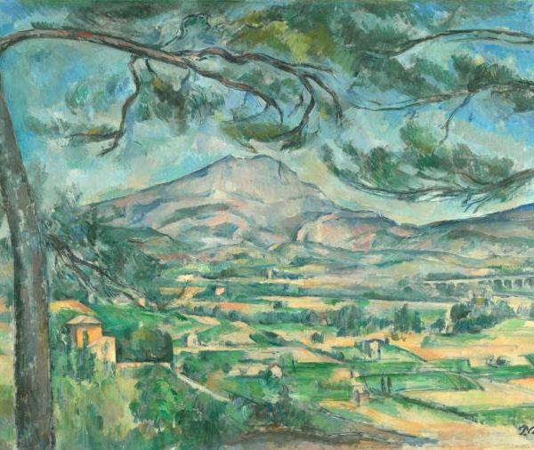 montagne sainte victoire with