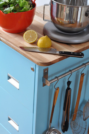 Filing Cabinet Kitchen Cart tutorial (premium  members only)