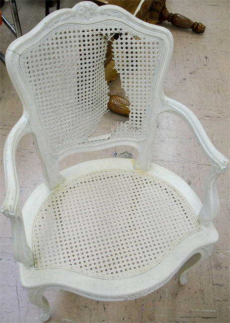 how to fix a cane back chair - cane chair repair tutorial