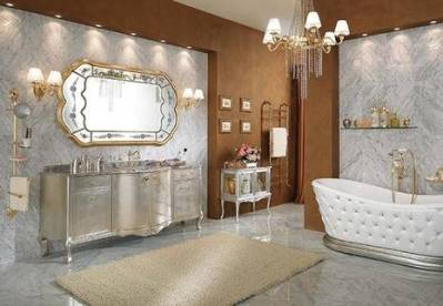 lineatre bathroom silver 6 Dramatic, Opulent and Original Bathtubs From Lineatre