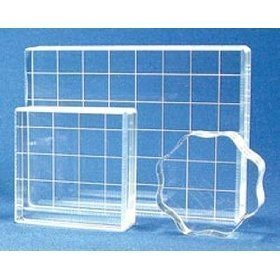 Acrylic Stamp Block Set Of 3