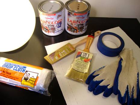 Supplies you'll need for this project.