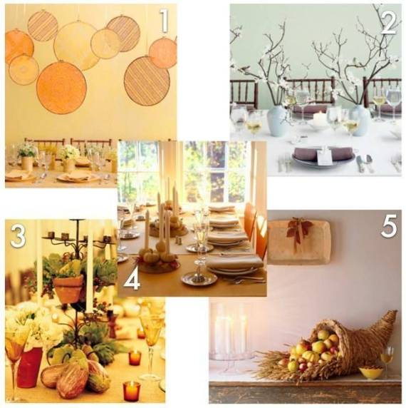 Thanksgiving centerpiece ideas from Martha Stewart. Who else?