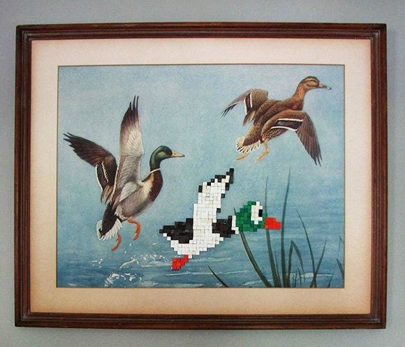 The classiest piece of Duck Hunt art