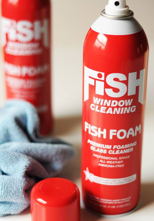 FishFoam premium foaming window cleaner